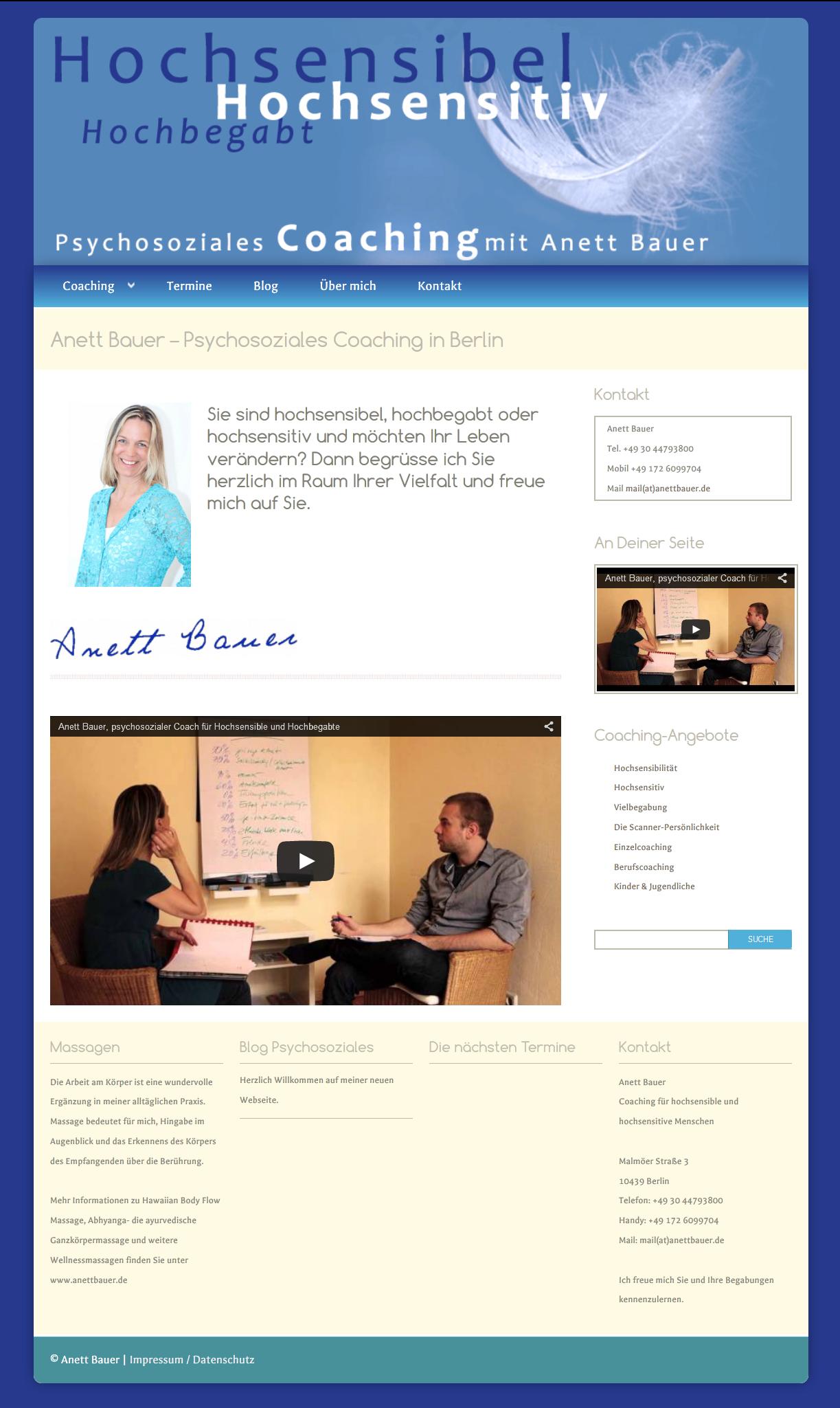 design-webseite-hochsensibel