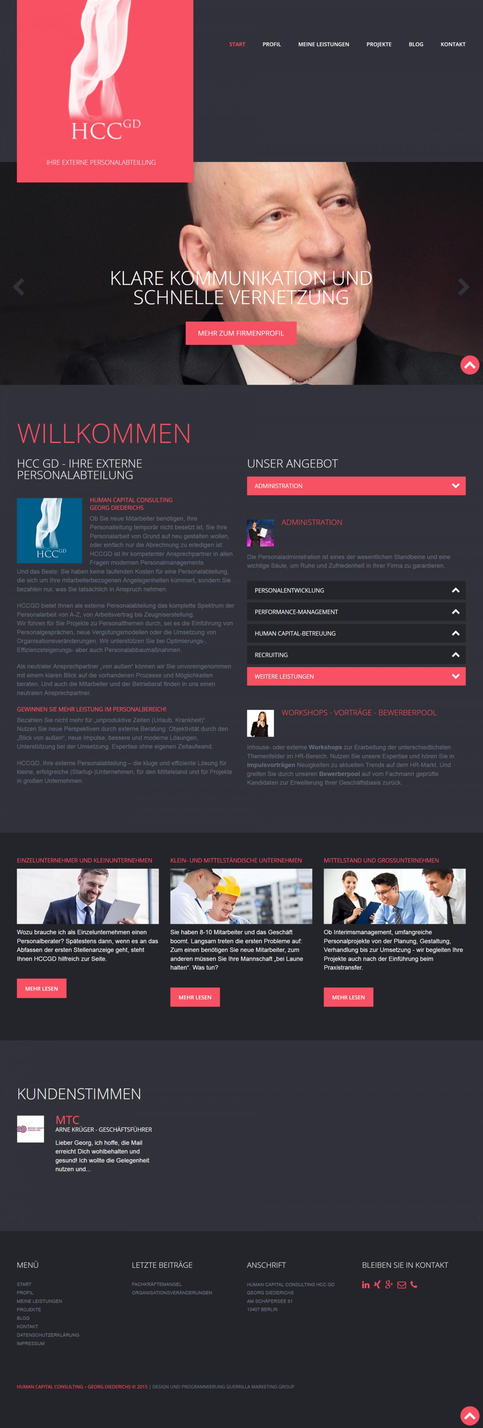 Webdesign Personaldienstleister